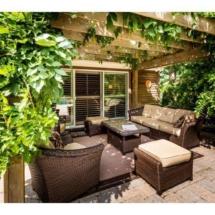 Fernwood master patio